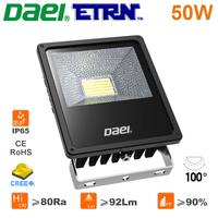 Daei ETRN Brand 2014 new Waterproof 50W LED Floodlight LED Spotlights Outdoor Lighting CREE LED Free Shipping