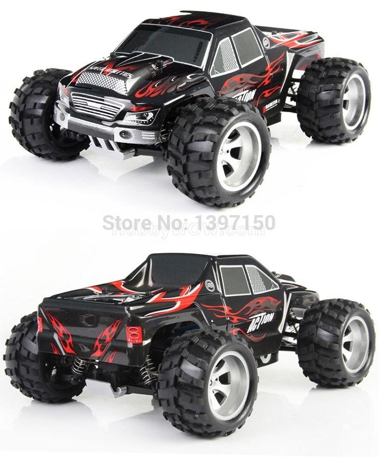 Black Monster Truck Toy Toys rc Monster Black