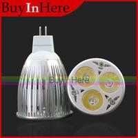 9W Mr16 Plug 3x3W Energy Saving Power Led Light Down Cool/Warm White Lamp Spotlight Spot Bulb 12V