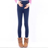 2014 Winter Warm Fitness Plus Size Maternity Pants Casual High Waist Elastic Waist Slim Pants For Pregnant 8057