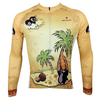 Happy ovement Paladin Sports Bike Cycle Full Sleeve Jersey Bicycle Cycling Shirt Free Shipping