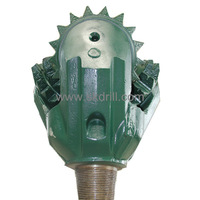 26'' IADC 211 steel tooth open bearing tricone drill bit