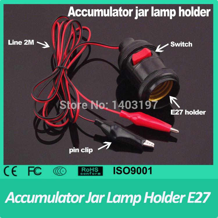 2PCS Free Shipping E27 Lamp Holder With Switch Hanging Design Lamp Holder with Switch pin clip Copper Edison Holder Scoket E27(China (Mainland))