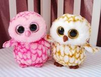 1pcs 2015 new cute Owl Children's kid toys doll baby rattles plush toys brinquedos cartoon Hippocampus Exports U.S. European CE