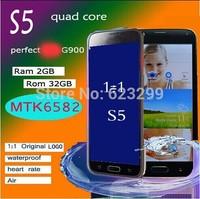 "Waterproof Fingerprint SV S5 1:1 i9600 3G Phone 32GB ROM 4GB RAM MTK6592 Octa Core Mobile Phone Full 5.1"" 1920*1080 16MP GPS"