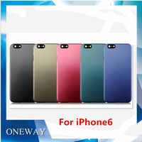 New Arrival! 5 Colorful Cases to Choose PC Case for iPhone 6 6G Protector Case for iPhone 6 Free Shipping
