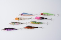600PC 8.8CM 7.4G NEW multi jointed fishing lure jointed lure hand plastic fishing lure minnow minnow joint swimming fishing bait