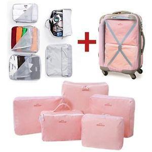Portable 5pcs Travelling Clothes Storage BAG Clothing Storage BAG Organizer BAG(China (Mainland))