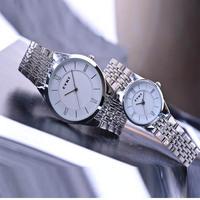 EYKI 8396 Brand Watch Couple Watches Men and Girl Women's Wristwatches Steel Starp Quartz Watch