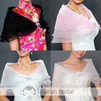 17008 In Stock Pashmina wedding bridal wraps and shawls wedding accessories 2014 White Faux fur wedding bolero 2014 New Arrival