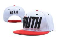Freeshipping I'm The Truth Snapback Hats white / red men & women's designer adjustable caps !