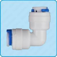 Two quick joint Elbow quick connect pipe diameter 1/4 water purifiers connectors