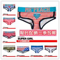 Comfortable Modal Cotton Soft Ladies' Briefs Women Underwear Girls Intimate Wear Panties Female Triangle Pants 3pcs/Lot