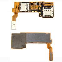 Slot Tray SIM Memory Holder Card Reader Flex Cable for LG Optimus G Pro E980