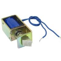 New 1Pc Open Frame Actuator Solenoid Door Lock/12VDC 1A 10mm Stroke 15N Force