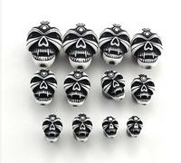 1 Pair NEW Arrival Punk Style Skeleton Design 6-16mm Body Jewelry Ear Piercing Tunnels Plugs Fashion EK155