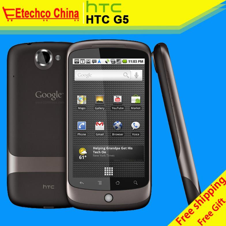 "G5 100% Original HTC Google Nexus One G5 Android phone 3.7"" Touch Screen 3G GPS WIFI Camera 5MP Free shipping(China (Mainland))"