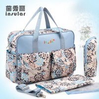 Korean multipurpose large capacity mummy bag mother and child package