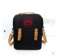 bts bangtan boys Hot BTS bulletproof Cadet Corps No. hand shoulder bag backpack shoulder bag dual-bts album bts poster b.a.p bag