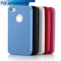 New phone cases Ultral thin Magnetic Flip Case For capa iphone 4s 4 4g Cheap Leather Plastic Case Cover for capa iphone 4s