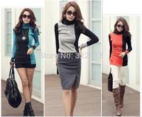 Turtleneck sweater women's color, wholesale and retail, original color turtleneck