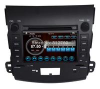 "7"" Car DVD GPS for Mitsubishi Outlander Audio Video Head unit Navigation TV Ipod Bluetooth Radio 3G CAN-BUS Free shipping"