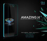MOQ 1PC For Nubia Z7 Mini NILLKIN Amazing H Nanometer Anti-Explosion Tempered Glass Screen 9H Protector Film