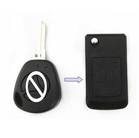 Free Shipping Lada 3 Buttons Modified Uncut Flip Folding Car Blank Key Shell