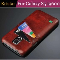 30pcs/lot Credit Card Slot Hard Case For Samsung Galaxy S5 i9600 Free Shipping
