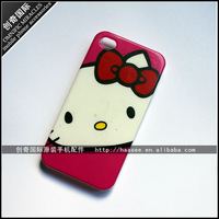 Free Shipping For iphone 4 4s Hello Kitty Cat hard Protective Cover No Tracking number
