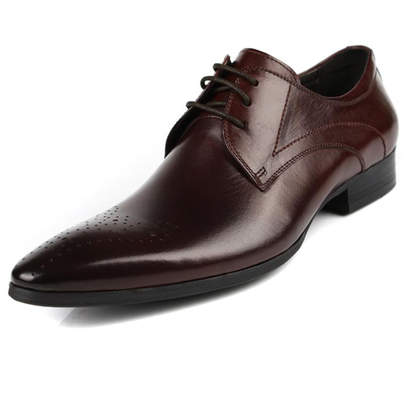 2015 New Men's Patent Boots Fashion Men's Short Boots Genuine