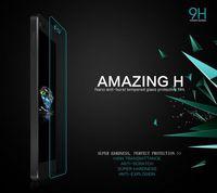 MOQ 1PC For Xiaomi M4 MI4 NILLKIN Amazing H Nanometer Anti-Explosion Tempered Glass Screen 9H Protector Film