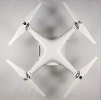 """2 Pairs 9"""" Balanced Self Tightening Self Locking CW CCW Propeller Prop For DJI Phantom 2 Vision Quadcopter  White"""