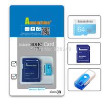 New R-U Memory Card 128GB Micro SD Card Class 10 Flash Card Micro SDXC SDHC Microsd TF Free Gift Adapter USB Reader Freeshipping