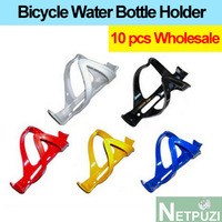 Wholesale Ultralight 40g Bicycle Water bottle Holder high quality PC Plastic Steel glass mountain bike accessories Water Cage
