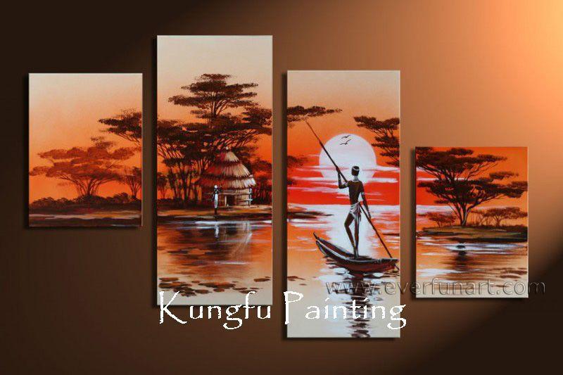 Achetez en gros peinture moderne africaine en ligne des grossistes peinture moderne africaine - Peinture murale contemporaine ...