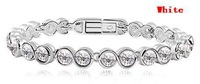 Top Quality Charm Crystal Bracelets Make With Austrian Crystal Elements (6- colors) 2014 New Jewelry