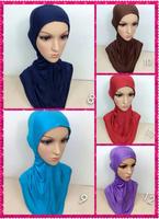 (free shipping) 100% cotton big underscarf ,muslim hijab ,muslim shawl ,mixed colors