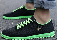 Summer ventilation casual shoes low canvas shoes to help tide Korean board shoes old Beijing man peas movement.