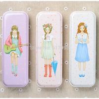 South Korea stationery wholesale sumay home Lolita Floral 4 tinplate SMF-0016