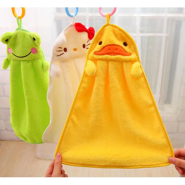 5 Color cartoon baby kids child infant newborn soft wash cloth bath feeding towel flannel wipe Hand Bath Towel Washcloths(China (Mainland))