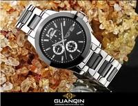 Fashion Women Men Ceramic Analog Wristwatch Classic Business Style Dress Watch Calendar Self Wind Sapphire Relojes 3ATM NW1047