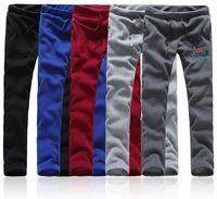 Brand NewMen Fleece Sweatpants Tracksuits Bottoms brand running jogger pants Drawstring Sport Pants For Men track pants