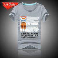 100% Cotton Men T-shirt Carton Design Indian Short-Sleeve T Shirt Shirts For Man Male  Wholesale Men Clothes Tops Tees