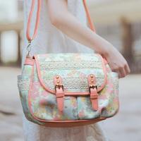 Super lover shoulder bag messenger bag sweet candy color fluid messenger bag female