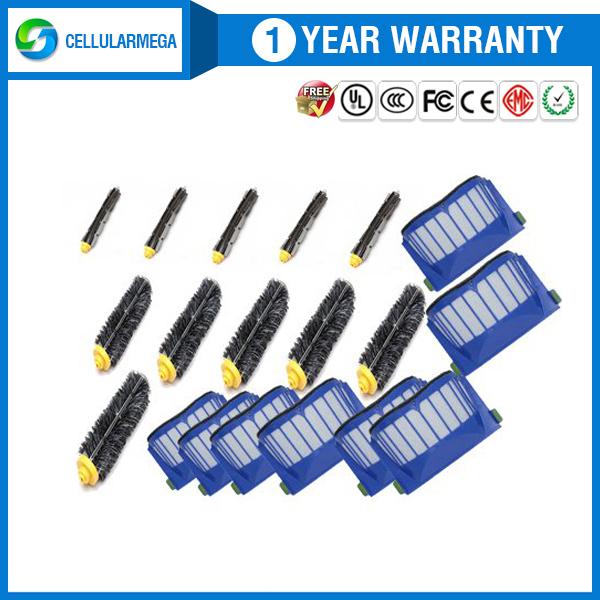 Bristle Brush Flexible Beater Brush Aero Vac Filter for Irobot Roomba 580 581 585 630 650 700(China (Mainland))