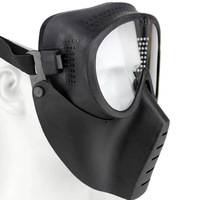 Outdoor Sports CS Wargame Tactical Looking Airsoft  Soft Mask