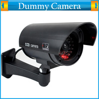 Cheap Home Surveillance Security Dummy Camera Fake IR Simulation Camera Waterproof LED Flashing Indoor Outdoor Bullet CCTV