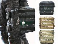 New color US Molle Drop Leg Panel Utility Pouch Bag