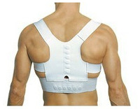 Power Magnetic Posture Sport Back Support Strap Postural Correction Belt Chiropractic vest  Free Shipping